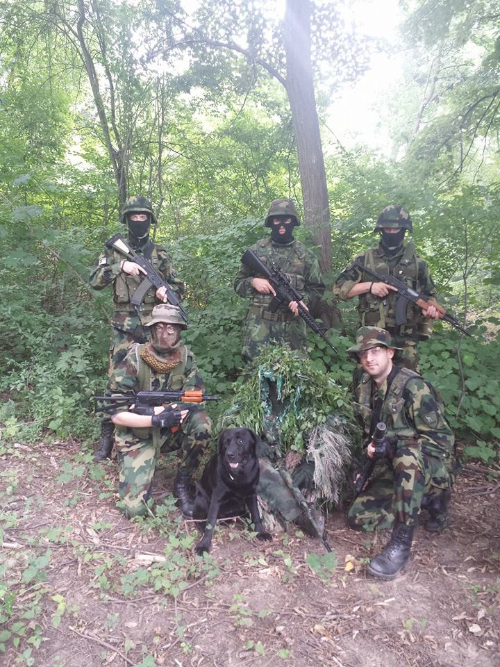 Airsoft - Shooting in Belgrade